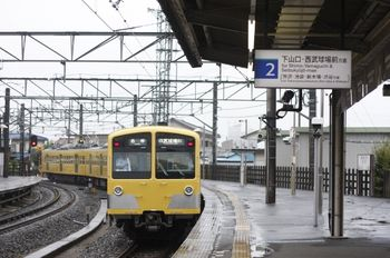 2011年9月20日、西所沢、285F+281Fの6109レ。