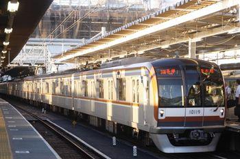 2011年9月22日、所沢、メトロ10019Fの6504レ(16M運用)