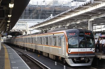 2011年9月22日、所沢、メトロ10033Fの6506レ(20M運用)