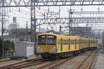 2011年9月19日11時6分頃、小手指、281F+285Fの下り回送列車。