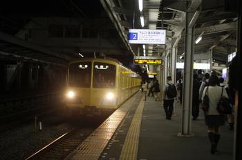 2011年9月28日、西所沢、1241Fの6188レ。