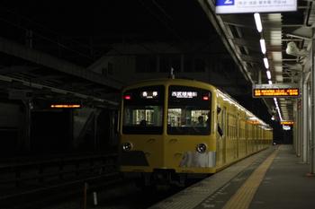 2011年10月13日、西所沢、1241Fの6189レ。