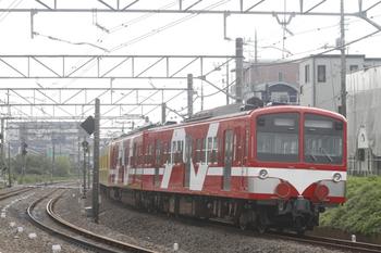 2011年10月17日 8時31分頃、所沢~新秋津、赤いN101系2連がJRへ向かいます