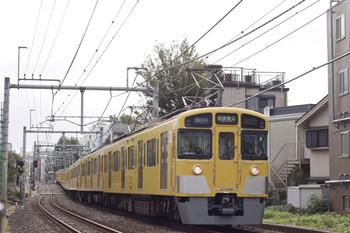 2011年10月24日、池袋~椎名町、2465F+2083Fの4801レ。