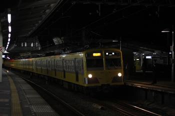 2011年10月28日、西所沢、271F+1309Fの2159レ。