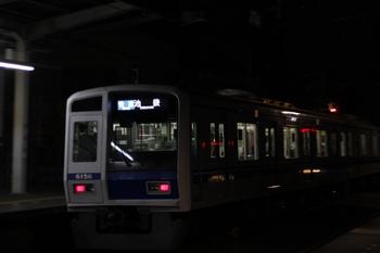 2011年10月31日、西所沢、6156Fの3120レ。
