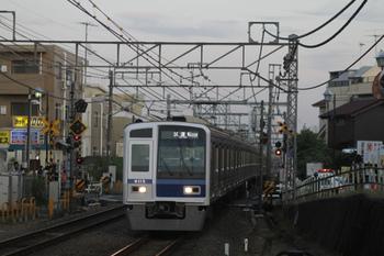2011年11月1日 16時42分頃、秋津、6115Fの下り試運転列車。