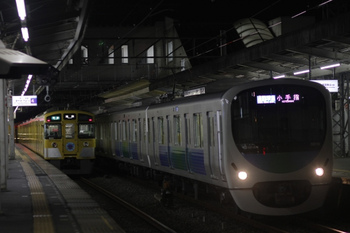 2011年11月1日、西所沢、右が38110Fの4863レ。