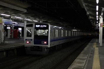 2011年12月9日、西所沢、6154Fの6523レ(10M運用)。