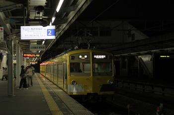 2011年12月21日、西所沢、6193レの271F+281F。