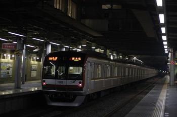 2011年12月22日、ひばりが丘、メトロ10031Fの6442レ(10M運用)。