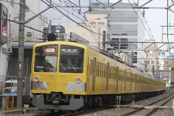 2012年1月2日、高田馬場~下落合、1303Fの2803レ。i