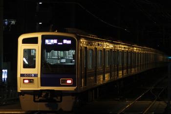 2012年1月1日 6時8分、ひばりが丘、08M運用の6108Fが発車(6501レ)。