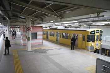2011年11月3日9時30分頃、入間市、到着した9001Fの準急 入間市ゆき。