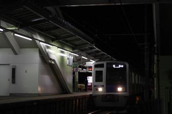 2012年1月6日 19時56分頃、元加治、6109Fの上り回送列車(40M運用)。