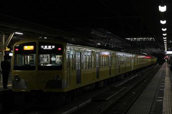 2012年1月17日、所沢、295F+1303Fの2604レ。