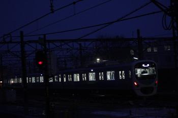 2012年1月20日 6時32分頃、所沢、通過した38110Fの上り回送列車。