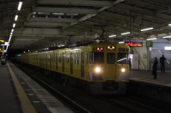 2012年1月26日、秋津、2417F+2075Fの2161レ。