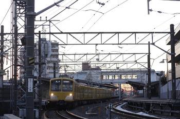 2012年1月31日、西所沢、281F+285Fの6109レ。