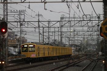 2012年2月5日 17時17分ころ、西所沢、通過した1241Fの上り回送列車。