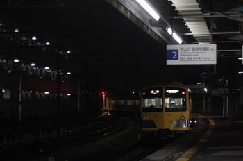2012年2月7日、西所沢、6185レの1241F。