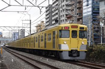 2012年2月8日、高田馬場~下落合、2019F+2517Fの1606レ。
