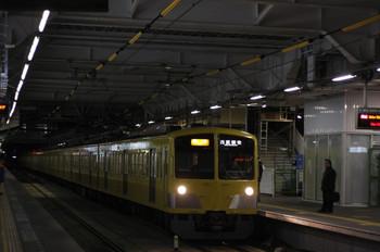 2012年2月14日、所沢、1303F+295Fの2804レ。