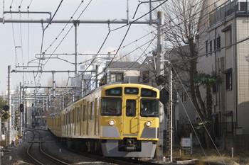 2012年2月17日、池袋~椎名町、2063Fの4133レ。