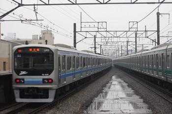 2012年2月23日、浮間舟渡、発車した東京臨海高速車両の790K。