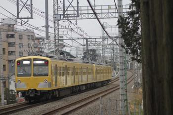 2012年3月8日6時41分頃、西所沢~小手指、281F+285Fの上り回送列車。