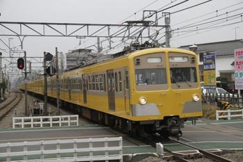 2012年3月8日 15時48分頃、狭山ヶ丘、271F+1309Fの下り回送列車。