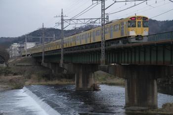 2012年3月11日、仏子~元加治、2097Fの1004レ。