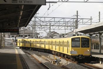 2012年3月11日、西所沢、3分遅れで到着の6146レの1241F。