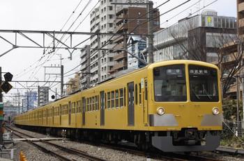 2012年3月12日、高田馬場~下落合、1303Fの5816レ。