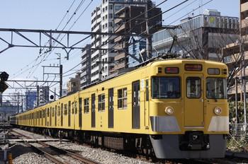 2012年3月13日、高田馬場~下落合、2409F+2065F。