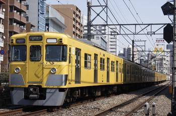 2012年2月15日、高田馬場~下落合、2025F+2545Fの1606レ。