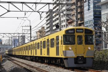 2012年3月16日、高田馬場~下落合、2053F+2519Fの1606レ。