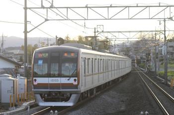 2012年3月24日、元加治、メトロ10005Fの3623レ(32M運用)。