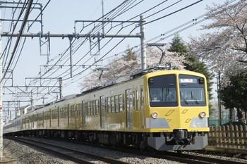 2012年4月8日 14時48分頃、所沢~西所沢、263F+1247Fの下り回送列車。