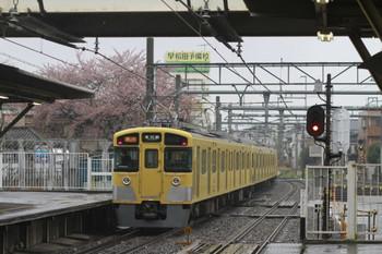 2012年4月14日、所沢、2451F+2093Fの2631レ。