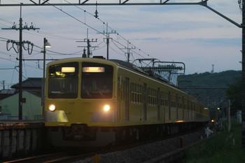 2012年5月4日 18時30分、元加治、1309Fの下り回送列車。