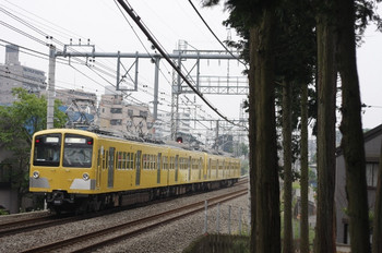 2012年5月9日 6時42分頃、西所沢~小手指、285F+281Fの上り回送列車。