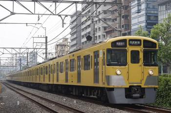 2012年5月9日、高田馬場~下落合、2051F+2543Fの1606レ。