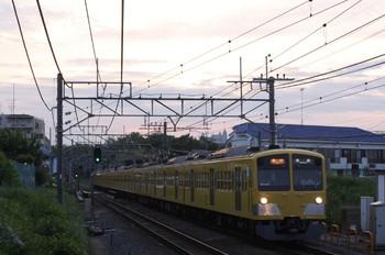 2012年5月21日、秋津、1309F+281Fの2166レ。