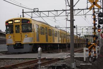 2012年6月5日 4時54分頃、元加治、通過する9103Fの下り回送列車。