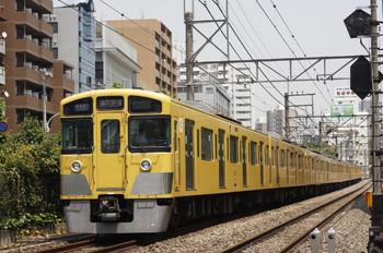 2012年6月8日、高田馬場~下落合、2045F+2505Fの1606レ。