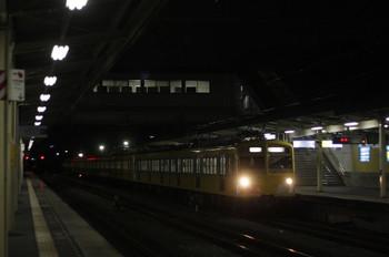 2012年6月7日 19時57分頃、仏子、通過する271F+1309Fの下り回送列車。