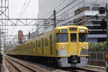 2012年6月15日、高田馬場~下落合、2015F+2527Fの3309レ。