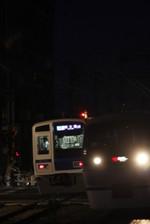2012年6月15日、西所沢、左は6109Fの4550レ。