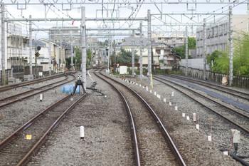 2012年6月10日、保谷、下り本線につながる4番線が見えます。
